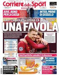capa Corriere dello Sport de 13 fevereiro 2019