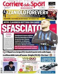 capa Corriere dello Sport de 14 fevereiro 2019