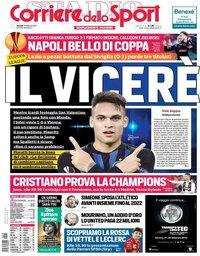 capa Corriere dello Sport de 15 fevereiro 2019