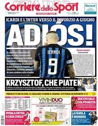 capa Corriere dello Sport de 17 fevereiro 2019