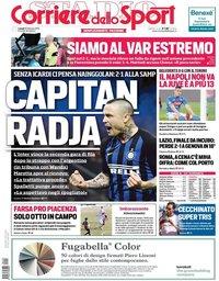 capa Corriere dello Sport de 18 fevereiro 2019