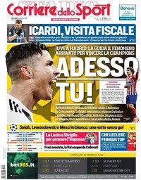 capa Corriere dello Sport de 20 fevereiro 2019