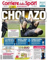 capa Corriere dello Sport de 21 fevereiro 2019