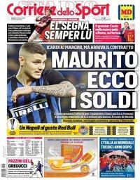 capa Corriere dello Sport de 23 fevereiro 2019