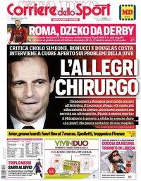 capa Corriere dello Sport de 24 fevereiro 2019