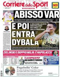 capa Corriere dello Sport de 25 fevereiro 2019