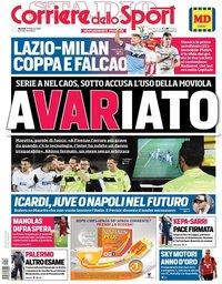 capa Corriere dello Sport de 26 fevereiro 2019