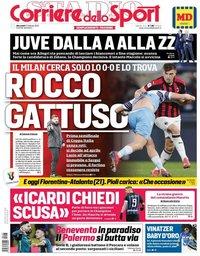 capa Corriere dello Sport de 27 fevereiro 2019
