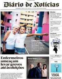 capa Diário de Notícias de 2 fevereiro 2019
