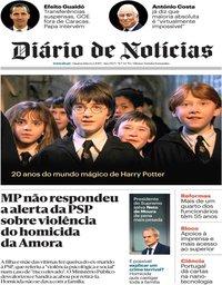 capa Diário de Notícias de 6 fevereiro 2019