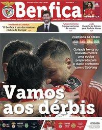 capa Jornal Benfica de 1 fevereiro 2019