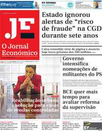 capa Jornal Económico de 1 fevereiro 2019