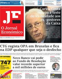 capa Jornal Económico de 8 fevereiro 2019