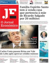 capa Jornal Económico de 15 fevereiro 2019