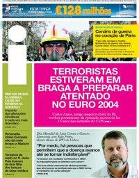 capa Jornal i de 4 fevereiro 2019