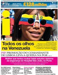 capa Jornal i de 5 fevereiro 2019