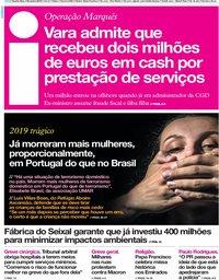capa Jornal i de 6 fevereiro 2019