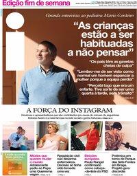 capa Jornal i de 8 fevereiro 2019