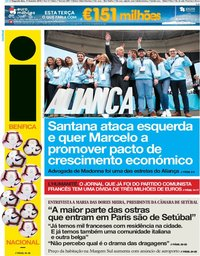 capa Jornal i de 11 fevereiro 2019