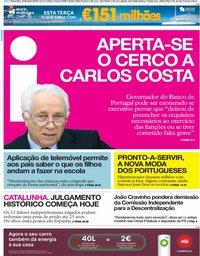 capa Jornal i de 12 fevereiro 2019