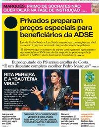 capa Jornal i de 13 fevereiro 2019