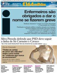 capa Jornal i de 14 fevereiro 2019