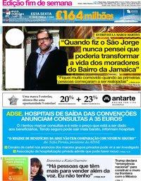 capa Jornal i de 15 fevereiro 2019