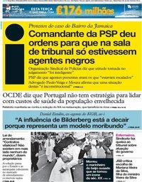 capa Jornal i de 19 fevereiro 2019
