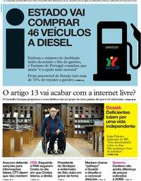 capa Jornal i de 21 fevereiro 2019