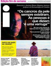 capa Jornal i de 22 fevereiro 2019