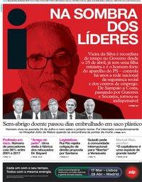 capa Jornal i de 25 fevereiro 2019