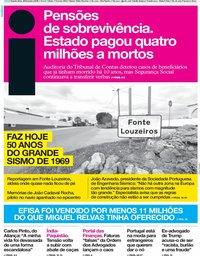 capa Jornal i de 28 fevereiro 2019
