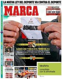 capa Jornal Marca de 2 fevereiro 2019