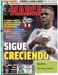 capa Jornal Marca de 4 fevereiro 2019