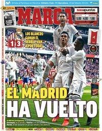 capa Jornal Marca de 10 fevereiro 2019