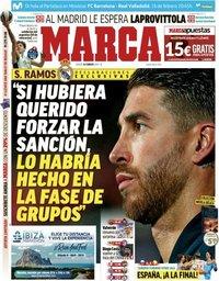 capa Jornal Marca de 16 fevereiro 2019