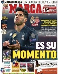 capa Jornal Marca de 17 fevereiro 2019