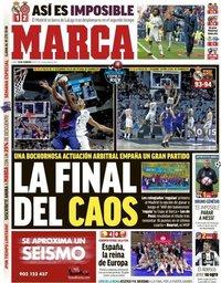 capa Jornal Marca de 18 fevereiro 2019