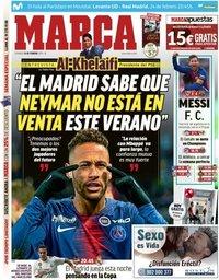capa Jornal Marca de 24 fevereiro 2019