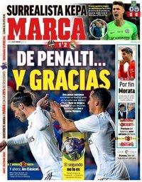 capa Jornal Marca de 25 fevereiro 2019