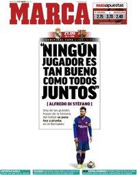 capa Jornal Marca de 27 fevereiro 2019