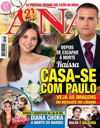 capa Revista Ana de 11 fevereiro 2019