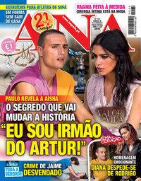 capa Revista Ana de 18 fevereiro 2019