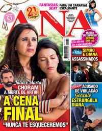 capa Revista Ana de 25 fevereiro 2019