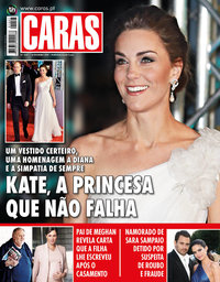 capa Revista Caras de 14 fevereiro 2019