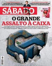 capa Revista Sábado de 7 fevereiro 2019