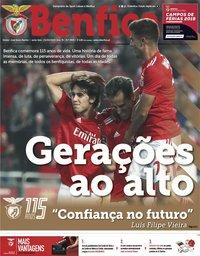 capa Jornal Benfica de 1 março 2019