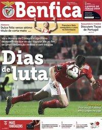 capa Jornal Benfica de 15 março 2019