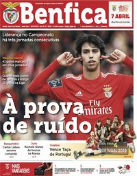 capa Jornal Benfica de 22 março 2019