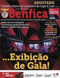 capa Jornal Benfica de 29 março 2019